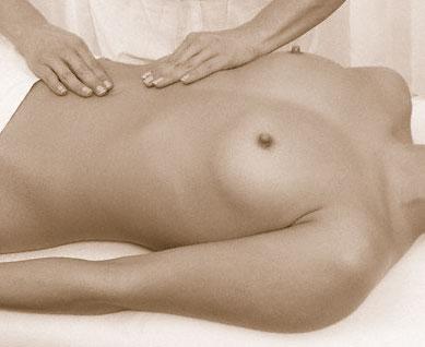 Massage bien-être du ventre