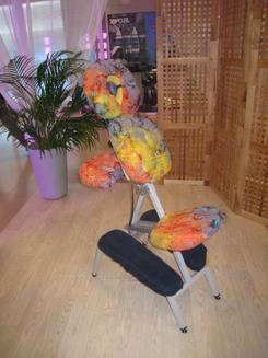 Massage assis sur chaise galerie