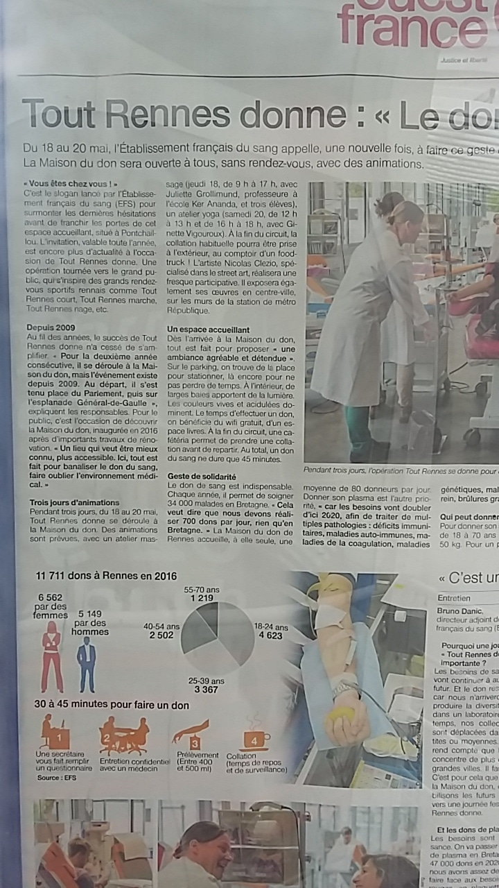Article EFS massages KerAnanda Tout Rennes Donne