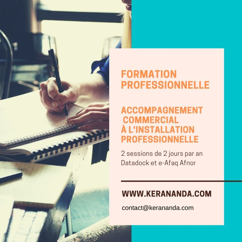 Formation professionnelle cursus PMBE accompagnement commercial KerAnanda Rennes