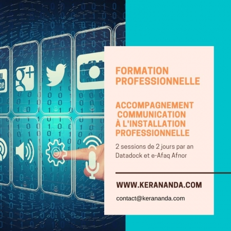 Formation professionnelle cursus PMBE accompagnement communication KerAnanda Rennes