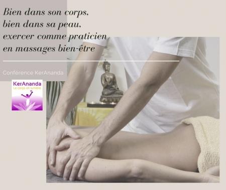 Conférence KerAnanda sur le métier de praticien en massages bien-être
