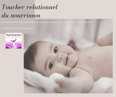 Conférence KerAnanda sur les bienfaits des massages du bébé donnée par KerAnanda