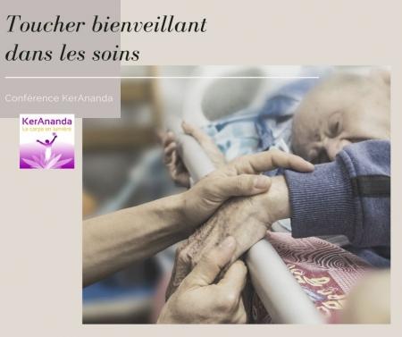Conférence KerAnanda Toucher relationnel et bienveillance dans les soins