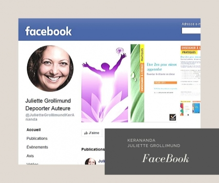 Page Facebook Juliette Grollimund Depoorter auteure