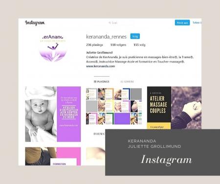 Page Instagram Juliette Grollimund Depoorter KerAnanda