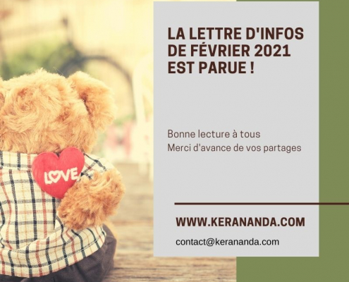 Newsletter Ker Ananda février 2021