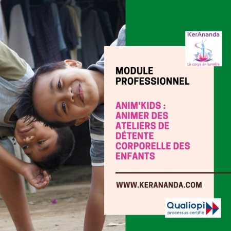Formation Anim'Kids détente corporelle des enfants