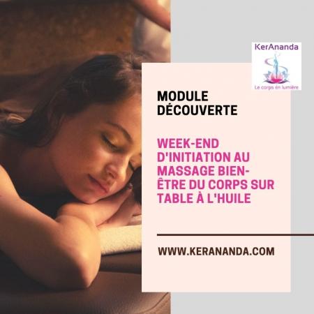 Week end initiation massage Rennes