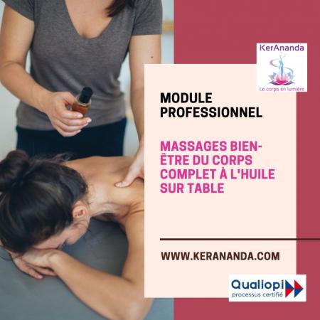 Formation Massages à l'huile